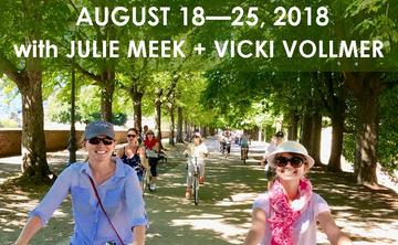 ITALIAN YOGA + WELLNESS RETREAT WITH JULIE MEEK + VICKI VOLLMER |  AUGUST 18 – 25, 2018