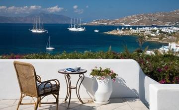 Mediterranean Retreat  on the island of Mykonos Greece