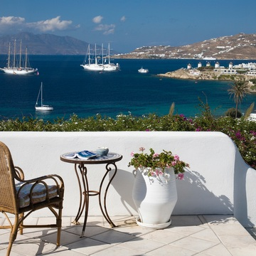 Mediterranean Retreat  on the island of Mykonos Greece