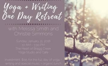 Yoga + Writing Calgary Day Retreat