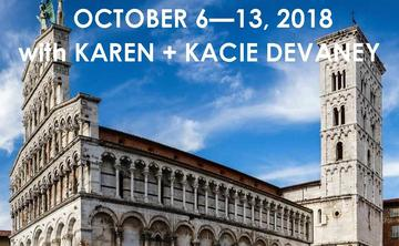 YOGA RETREAT IN ITALY WITH KAREN + KACIE DEVANEY | OCTOBER 6 – 13, 2018