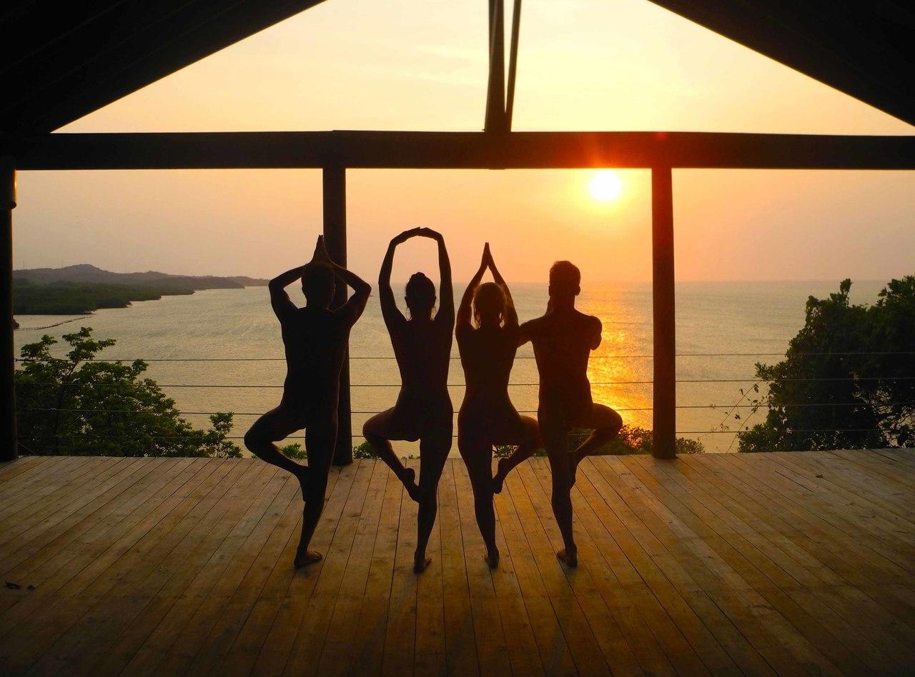 Men yoga nude Nude Photos