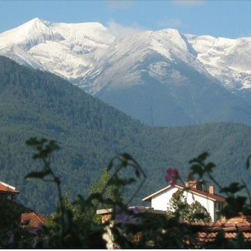 Horizon center in the mountains of Bulgaria