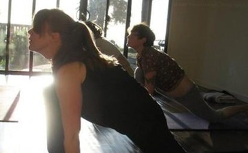 Tuesday morning yoga class 9:30-11:00 a.m. in Bolinas California