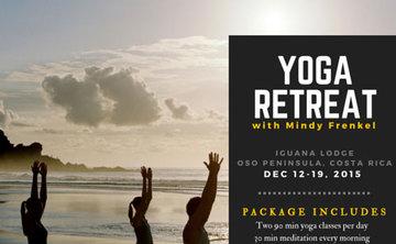Yoga Retreat with Mindy Frenkel