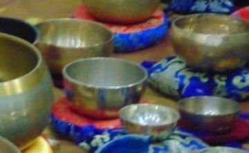 Meditationwith Tibetan Singing Bowls in Romania