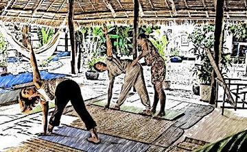 8 days Yoga for a spirit