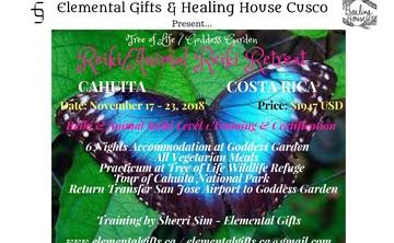 Tree of Life Goddess Garden Animal Reiki/Reiki Training Retreat