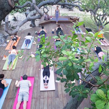 Yoga holidays Lençóis Maranheses, Brasil - August 2018