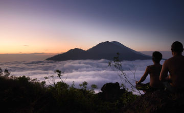 Footprints in Bali
