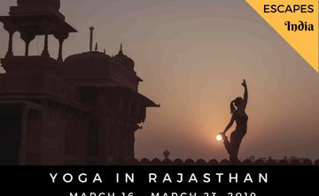 Iconic India – 8 Day Rajasthan Boutique Tour & Yoga Escape