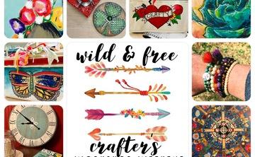 August 16-19:  Wild & Free Crafter's Workshop Weekend… 3 spots left