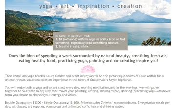 Yoga * Art * Inspiration * Creation * Retreat