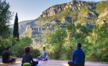 Yoga Kum Nye et randonnée dans les Cévennes, cadre exceptionnel