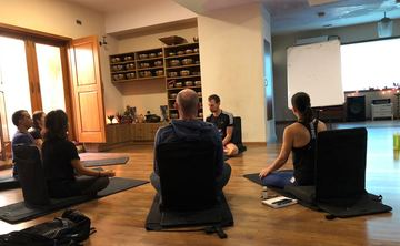 100 hours  Immersion-  Ashtanga Vinyasa & Hatha Yoga TTC (2 weeks long) room & veg meals