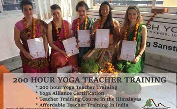200 Hour Hatha & Ashtanga Yoga Teacher Training in Rishikesh