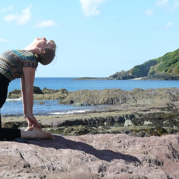 Stunningly Beautiful Isle of Mull, 3 night Stay Personalised Yoga Experience.