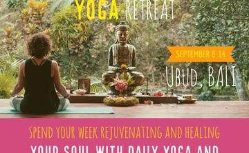 Bali YOGA Retreat - celebrate the divine you