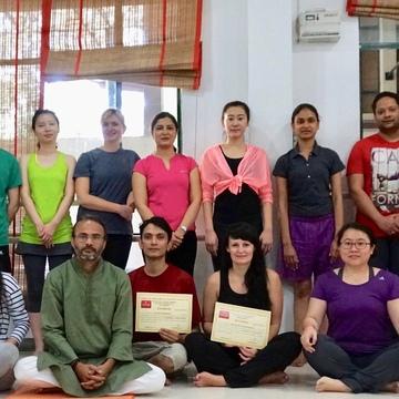 200 Hr Yoga Teacher Certificate Course