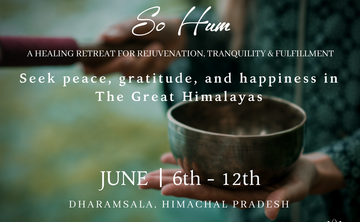 So Hum: 7 Days Yoga + Meditation Retreat in The Himalayas