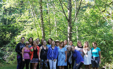 Back to Nature Women's Yoga Retreat in Oregon, July 2018