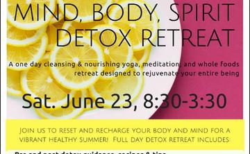 Mind, Body, Spirit Spring Detox Retreat