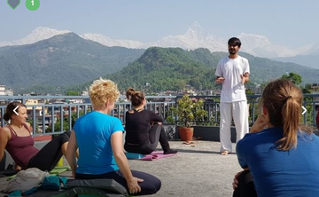 200 hours yoga teacher training in Nepal