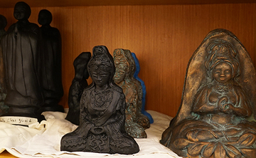 Compassion at Your Fingertips: A Kannon Bodhisattva Sculpture Workshop