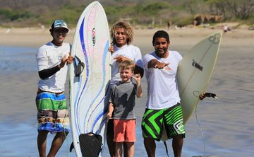 7-Night Backpacker Surf Package in Playa Guiones, Costa Rica
