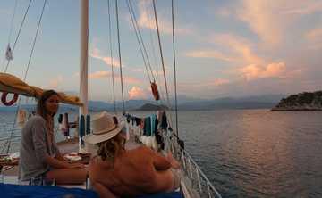 Yoga Cruise, Hiking and Archaeology
