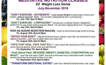 LYMPHACISE EZ Weight Loss July 27th 6:30pm-8pm