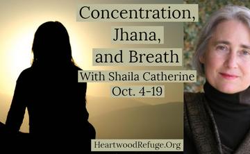 Concentration, Jhana, and Breath – 9 Night Retreat