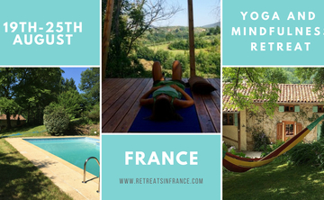 7 day Deep Rest Yoga and Mindfulness Retreat, SW France 19-25th August