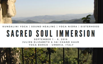 Sacred Soul Immersion In Umbria, Italy
