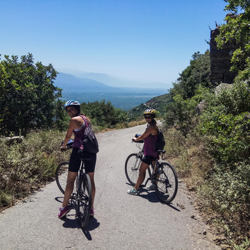 Ancient Greek sites Peloponnese bike tour (Apr & Oct 2019)