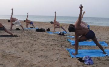 Yoga for men, south india welness and holiday retreat