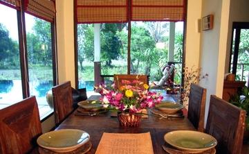 Rural Farm Stay at a Thai Pool Villa