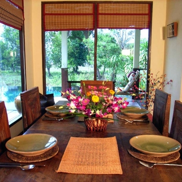 Rural Farm Stay at a Thai Pool Villa