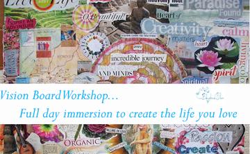 Create Your Dream Life Vision Board Workshop and Embody Abundance Mini Retreat
