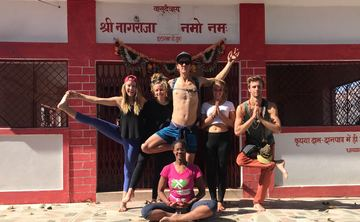 200-Hour Hatha and Ashtanga Yoga Teacher Training in Rishikesh, India