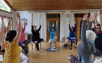 Chair Yoga Teacher Training