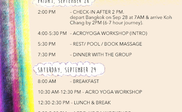 Acro Yoga Weekend Workshop