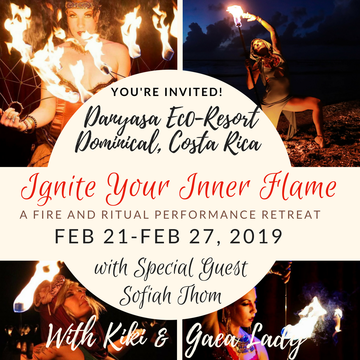 Ignite Your Inner Flame Fire and Ritual Performance Retreat