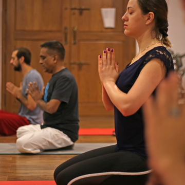 200H Hatha Yoga TTC with Yoga Alliance USA - Veg food & accomodation - Mysore India