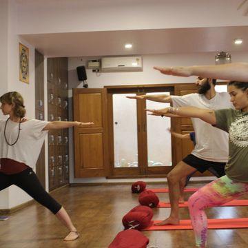 100 hours  Immersion  (2 weeks long) -  Hatha Yoga TTC &  Ashtanga Vinyasa + room & veg meals