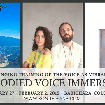 Embodied Voice Immersion in Colombia