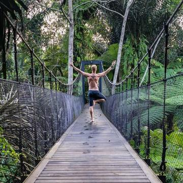 Off-the-Grid Yoga Retreat in Bali