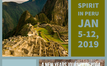 Start Your New Year in Peru...Yoga, Munay-Ki Rites, & the Energy of the Sacred Sites