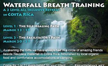 Waterfall Breath Training