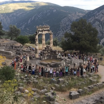DELPHI:  The Power of Movement Meditation – Summer Pranafication Retreat